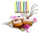 Doughnuts for Hanukkal — Stock Photo