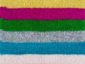 Texture of woolen scarf — Stock Photo
