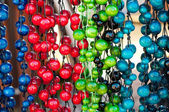 Oloured beads — Stock Photo