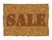 Sale_suede — Stock Photo