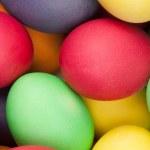 Color eggs — Stock Photo #7492199