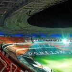 Football stadium — Stock Photo
