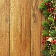 Christmas fir tree with decoration — Stock Photo #7544025