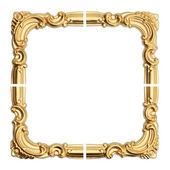 Eski antika altın çerçeve. — Stok fotoğraf