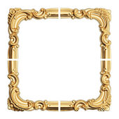Old antique gold frame. — Stok fotoğraf