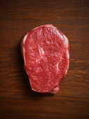 Fresh raw steak — Stock Photo