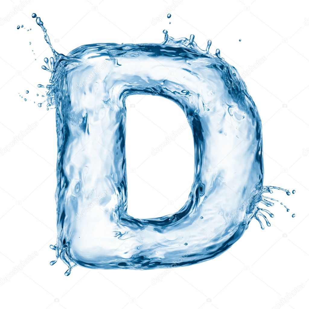 Download - Letter of water alphabet