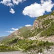 Mountain landscape. Belagorka Gorge, Kyrgyzstan — Stock Photo