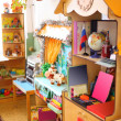 Stock Photo: Interior of kindergarten