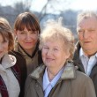 Three generations of one family — Stock Photo #7424013