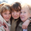 Grandmother, daughter and grand daughter — Stock Photo