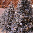 Decoration New Year trees — Stock Photo #7424426