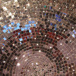 Closeup mirror ball — Stock Photo