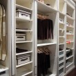 Stock Photo: Wardrobe for clothes