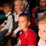 Children on holiday in kindergarten — Stock Photo