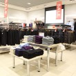 Stock Photo: Interior of shop of clothes