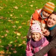 Mother with children in park — Stock Photo #7426846