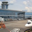 View of airport — Stock Photo