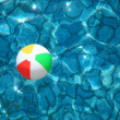Ball in pool - Stock Photo