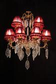Luxury chandelier — Stock Photo