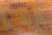 Orange surface in rivets — Stock Photo