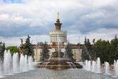 "Fountain ""Stone flower"". Moscow. Russia. — Stock Photo"