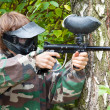 Royalty-Free Stock Photo: Paintball player