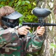 Paintball player — Stock Photo #7430184
