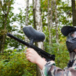 Paintball-Spieler — Stockfoto