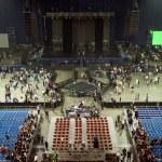 Performance concert show — Stock Photo
