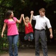 Family in park — Stock Photo #7431989