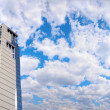 Office building and panorama of sky — Stock Photo #7432722