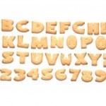 Cookie, alphabet — Stock Photo #7434144