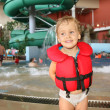 Royalty-Free Stock Photo: Child in aquapark