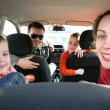 Family in car — Stock Photo #7434379