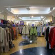 Stock Photo: The department of upper clothes in shop