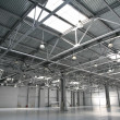 Hangar warehouse — Stock Photo