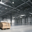 Warehouse of shopping center - Stock Photo