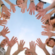 Hands circle — Stock Photo #7435425