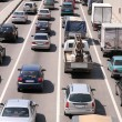 Car sity traffic — Stock Photo
