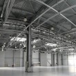 Hangar warehouse panorama — Stock Photo #7436768