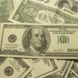Close-up of dollars - Stock Photo