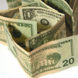 Close-up of dollars 3 — Stock Photo