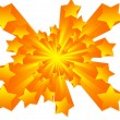 Stock Photo: Star explosion