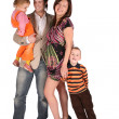 Young family with children 2 — Stock Photo #7438944