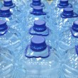 Plastic bottles of water — Stock Photo