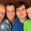 Four generations - Stock Photo