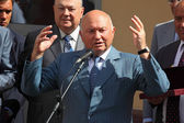 Mayor Luzhkov — Stock Photo