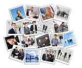 Wiele firm zdjęcia, kolaż — Zdjęcie stockowe