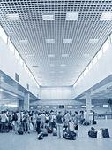 Luchthaven passagier — Stockfoto